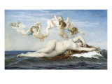 Birth of Venus (Naissance De Vénus) Prints by Alexandre Cabanel