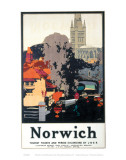 Norwich Print Posters