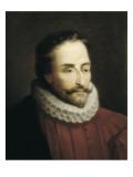 Miguel De Cervantes Giclee Print by Eduardo Balaca Y Canseco