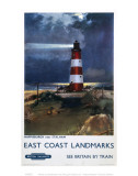 East Coast Landmarks, Lighthouse Poster