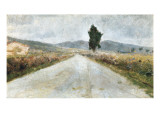 The Tuscan Road Giclee Print by Amedeo Modigliani