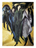 Women in the Street Giclee Print by Ernst Ludwig Kirchner