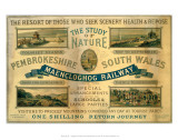 Pembrokeshire South Wales, Maencloghog Railway Art