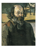 Self Portrait Giclee Print by Paul Cezanne