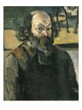 Self Portrait Posters by Paul Cézanne