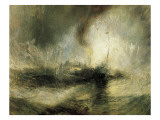 Snow Storm Giclee Print by William Turner