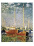 Argenteuil Poster av Claude Monet