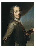 Portrait of Voltaire Reproduction procédé giclée