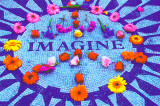 Imagine - Blacklight Print