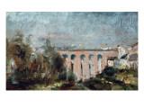Viaduct of Castelviel in Albi Láminas por Henri de Toulouse-Lautrec