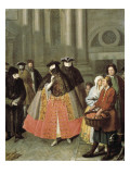 The Apple Seller Poster by Pietro Longhi