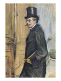 Portrait of Louis Pascal Poster by Henri de Toulouse-Lautrec