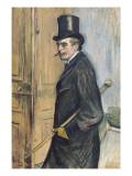 Portrait of Louis Pascal Póster por Henri de Toulouse-Lautrec