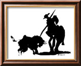 Bullfight IV Posters av Pablo Picasso