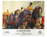 London for State Occasions Prints