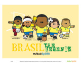 Weenicons: Brasil Plakater