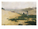 Landscape with Figures Giclee Print by Ramon Casas Carbo