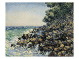 The Cape Martin Print by Claude Monet