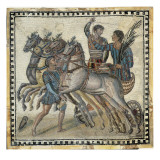 Chariot Race (3rd C) Giclee Print