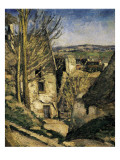 The House of the Hanged Man, Auvers-Sur-Oise Giclee Print by Paul Cézanne