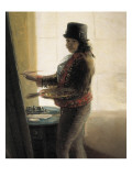 Self-Portrait in the Studio Giclee Print by Francisco de Goya
