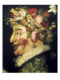 The Spring Prints by Giuseppe Arcimboldo