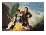The Parasol Prints by Francisco de Goya