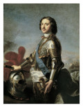 Portrait of Peter I Giclee Print by Jean-Marc Nattier