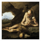 St Giclee Print by Jusepe de Ribera