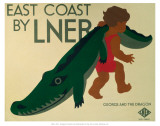 East Coast by LNER Pôsters