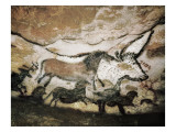 The Cave of Lascaux Prints