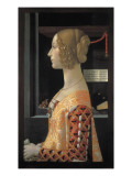 Portrait of Giovanna Tornabuoni Giclee Print by Domenico Ghirlandaio