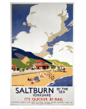Saltburn by the Sea, Yorkshire Sky and Landscape Posters
