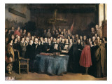 Congress of Munster Giclee Print by Claude Jacquand