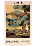 Lms English Lakes for Holidays Prints