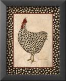 Spotted Chicken Poster par Warren Kimble