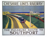 Cheshire Lines Railway Prints