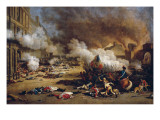 Assault on the Tuileries Giclee Print