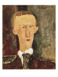 Portrait of Blaise Cendrars Poster di Amedeo Modigliani