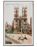 London, West Minster Abbey Prints
