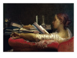 The Reader Giclee Print by Federico Faruffini