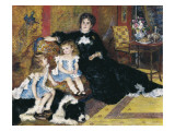 Madame Georges Charpentier and Her Children Giclee Print by Pierre-Auguste Renoir
