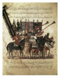 """The Maqamat"" (The Assemblies of Al-Hariri), Characteristic Genre of the Medieval Arabic Literature Poster by Yahya ibn Mahmud Al-Wasiti"