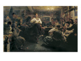 The Gathering Giclee Print by Ilya Efimovich Repin