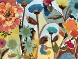 Flower Garden I Poster by Gayle Kabaker
