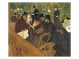 Au moulin rouge Affiches par Henri de Toulouse-Lautrec