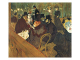 At the Moulin Rouge Prints by Henri de Toulouse-Lautrec
