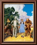 The Wizard of Oz: Glitter Yellow Brick Road Poster
