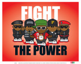 Weenicons: Fight the Power Art