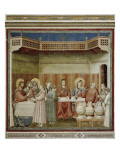 Scenes from the Life of Christ: Marriage at Cana Prints by  Giotto di Bondone